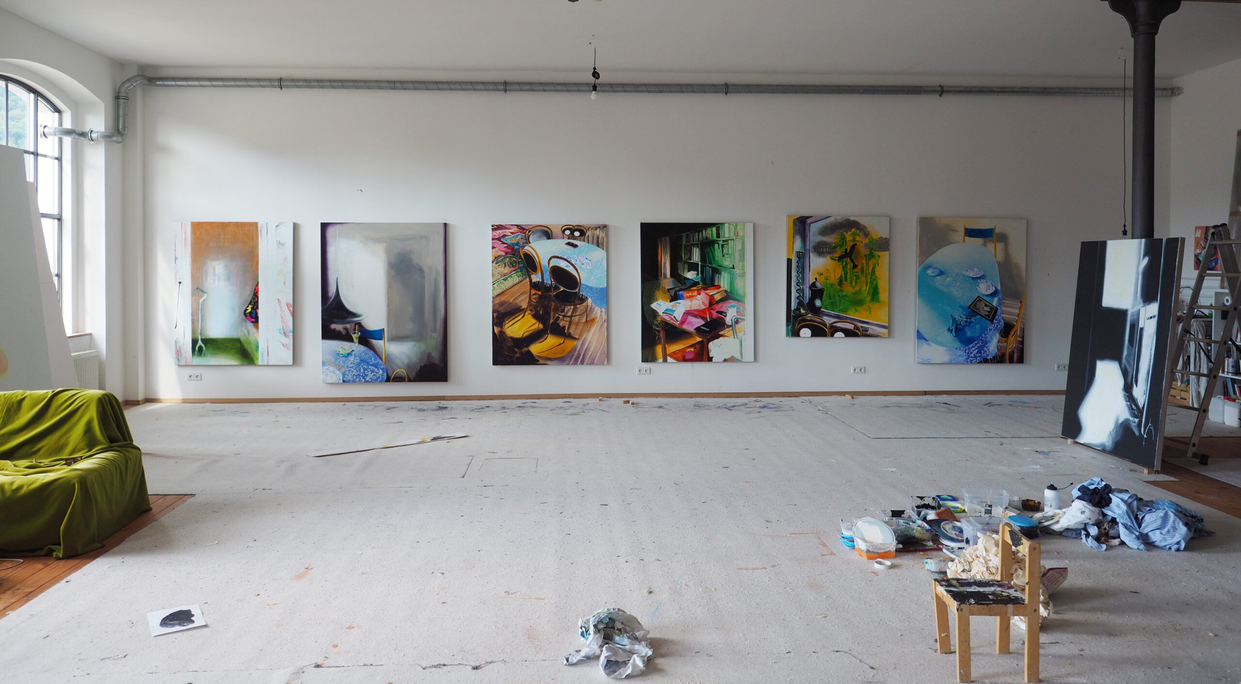 Susanne Kühn, Flash Realism, 6 sketches